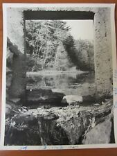 Vintage Press Glossy Photo 1982 Sherborn Massachusetts #1 Boqqastow Brook