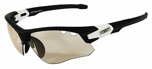 Sky Eyewear - Photochromic Transition Sunglasses - Vented - Black with Case