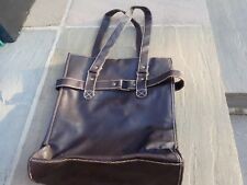 Atmosphere Faux Leather Brown Hand Bag - fully lined  NCC