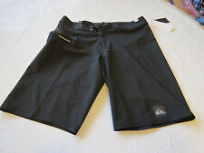Quiksilver Everyday Kaimana UA2 black 30 board shorts swim trunks 30x21 Men's