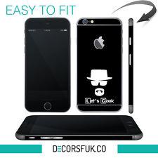 Heisenberg iPhone 6 skin black - iphone 6 sticker / iphone 6 decals