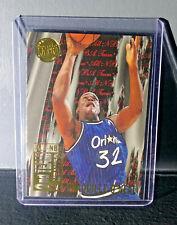 1995-96 Shaquille O'Neal Fleer Ultra All-NBA Team Gold Medallion Basketball Card