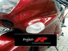 KAWASAKI ZZR 1100 ZZR600 ZZR1100 CLEAR RED LED TAIL LIGHT 'E' MARKED!!