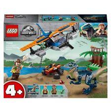 NEW LEGO Jurassic World 75942 Velociraptor: Biplane Rescue Mission NIB Sealed