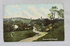 Antique Postcard Prestwich Clough Greater Manchester Posted Postmark 1905