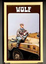 WOLF HORNET MODELS WAW 13 - SEATED GERMAN SOLDIER WW2 - 1/35 RESIN KIT
