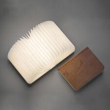 LED Book Folding Reading Lamp Desk Table Bedroom Decor Light USB Novelty Gift