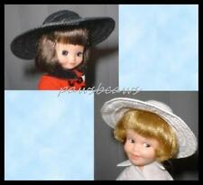 "SAVE 25% on 2 HATS - Black & White for 8"" TINY BETSY McCALL/9"" Penny Brite"
