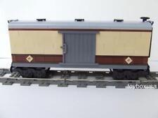 New Custom Built Box Car Train Built W/ New Lego Bricks fits Emerald Night 10194