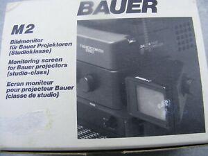 Super 8 Bildmonitor von Bauer zum digitalisieren Ihrer Super 8 Filme