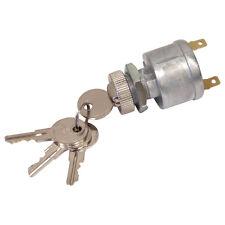 Universal EZGO Golf Cart Key Switch, Mixed Key Codes, 2 Terminals 18027G1