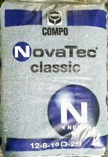 COMPO NOVATEC CLASSIC CONCIME GRANULARE UNIVERSALE 12-8-16 ( 3-25 ) 25 KG.