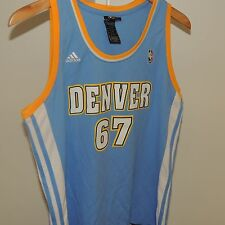 NBA 4 Her Adidas Denver Nuggets #67 Basketball Jersey New Womens X-LARGE