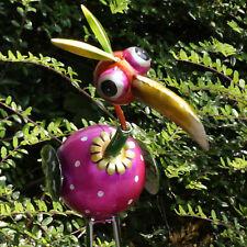 """Garten Dekovogel """"Tukan"""" Metall, 50 cm hoch, aufwendig verarbeitet Paradiesvogel"""