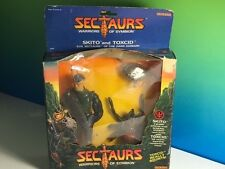 1984 COLECO SECTAURS WARRIORS SYMBION ACTION FIGURE TOXCID SKITO MOC NIB BOX