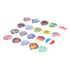 20X/lot Dart Flights Professional Shaft Throwing Toy Different Pattern Flight ME