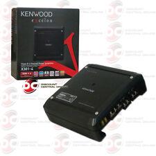 KENWOOD X301-4 CAR AUDIO 4 CHANNEL CLASS D AMP AMPLIFIER