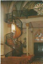 "Vintage Postcard - Our Lady of Light Chapel Stairway Santa Fe, NM Petley 6"" x 9"""