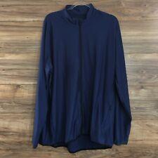 Adidas Mens 4.Zero Full Zip Training Jacket Blue Size 2XL New