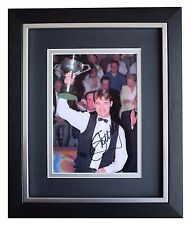 Stephen Hendry SIGNED 10x8 FRAMED Photo Autograph Display Snooker Sport COA