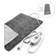 PureRelief PEHPAD24-G XL King Size Heating Pad - Grey