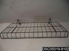 "Qty= 5: Peg Board Shelves, Black, 26-070Bl, 10""X 23"""
