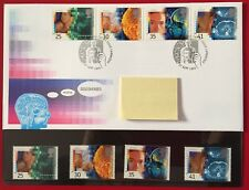 Royal Mail First Day Cover + 4 MNH stamps (Medical Discoveries) 27th Sept 1994