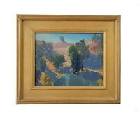 Matthew M Reynolds Listed California Plein Air Landscape Oil Painting Signed