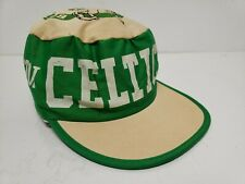 VTG 1980's Era Boston Celtics Painters Hat Cap 80s
