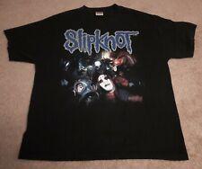 Vintage Slipknot Iowa Numbers 437026851 2XL XXL Distressed Black T Shirt 2001