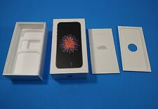 Apple iPhone SE (Latest Model) -16GB -Space Gray BOX AND INSERTS ONLY!! No phone