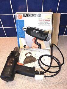Boxed Black & Decker Paint stripper  Heatgun BD1400 1200w Heat gun Inc Scraper