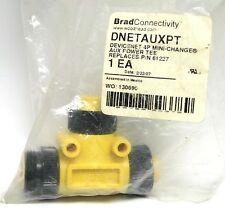 Brad Woodhead DNETAUXPT Devicenet 4P Mini-Change Aux Power Tee Replace P/N61227