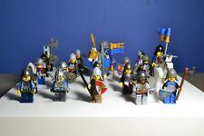 LEGO CASTLE KNIGHT MINIFIGURES LOT Sword Weapon Horses