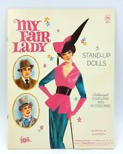 VINTAGE 1965 OTTENHEIMER 2961-0 MY FAIR LADY 5 STAND-UP COLORFUL PAPER DOLLS