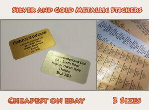 Customised Labels Self Adhesive Return Address Mini Pre-Printed Personalised