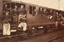 WW1 - Photo - Zouaves en partance vers le front