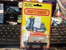 Matchbox Lesney 1980 Superfast Diecast Model Toy Car #25 FLAT BED CAR CONTAINER