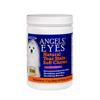 Angels Eyes Natural Tear Stain Remover, Soft Chews, Chicken Flavor, 120 or 240