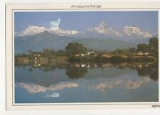 Annapurna Range Nepal Postcard 471a