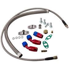 T3 T4 T60 T61 T70 T04E Oil Feed Line + Turbo Oil Drain Return Full Kits Sales