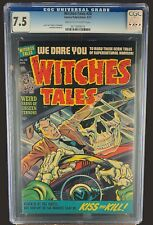 Witches Tales #20 CGC 7.5 - Harvey Comics 1953 - Golden Age Horror Crime & Scifi