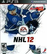 NHL 12 Sony PS3 EA SPORTS INCLUDES NHL ARCADE PLAYABLE DEMO VIDEO GAME FREE SHIP