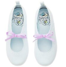 NEW Disney Animators Collection Blue TinkerBell Toddler Girls Flats Shoes Sz 10