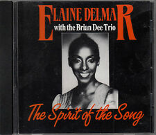 Elaine Delmar With Brian Dee Trio - Spirit of the Song CD Signed FASTPOST