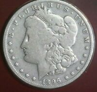 UNITED STATES 1896 O  MORGAN SILVER DOLLAR