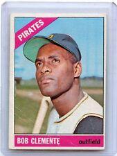 1966 TOPPS BASEBALL #300 BOB ROBERTO CLEMENTE, PITTSBURGH PIRATES, HOF, 080416