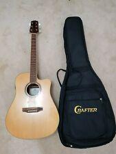 SX DG-50CE Solid Top Electro-Acoustic Guitar