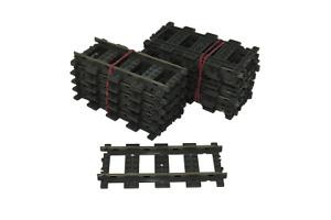 20 Lego 9V train chemin de fer voie ferrée 4515 rails droits
