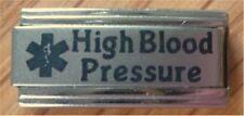 9mm Classic Size Italian Charms L38 High Blood pressure